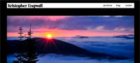 Web Design of Kit Engwall Photography